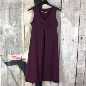 Atleta Dress in Eggplant Color Size Medium